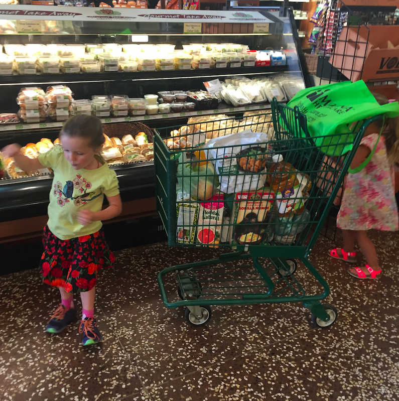 Trips to the grocery store...who knew that they could be so exciting?