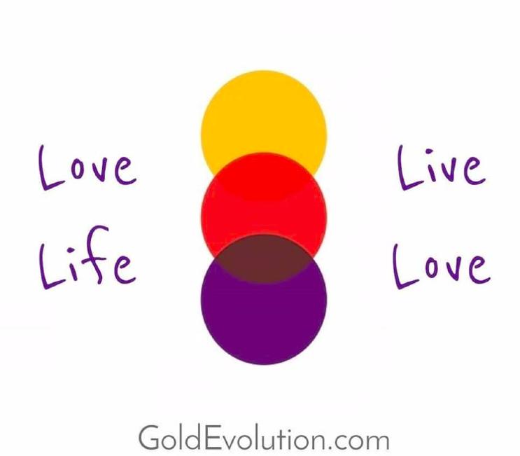 Love life, live love.