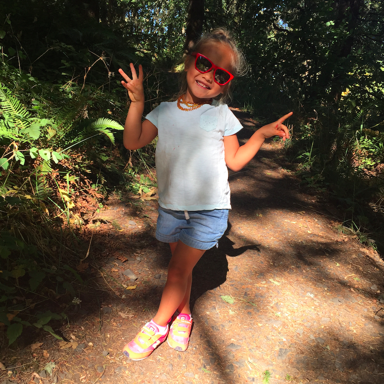 My cool kid in the gorgeous state of Oregon.
