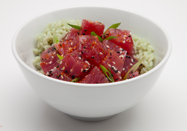 Poke. Already a big hit on the west coast, it (poke phenomenon) recently hit the East Coast, and I am dying to go.
