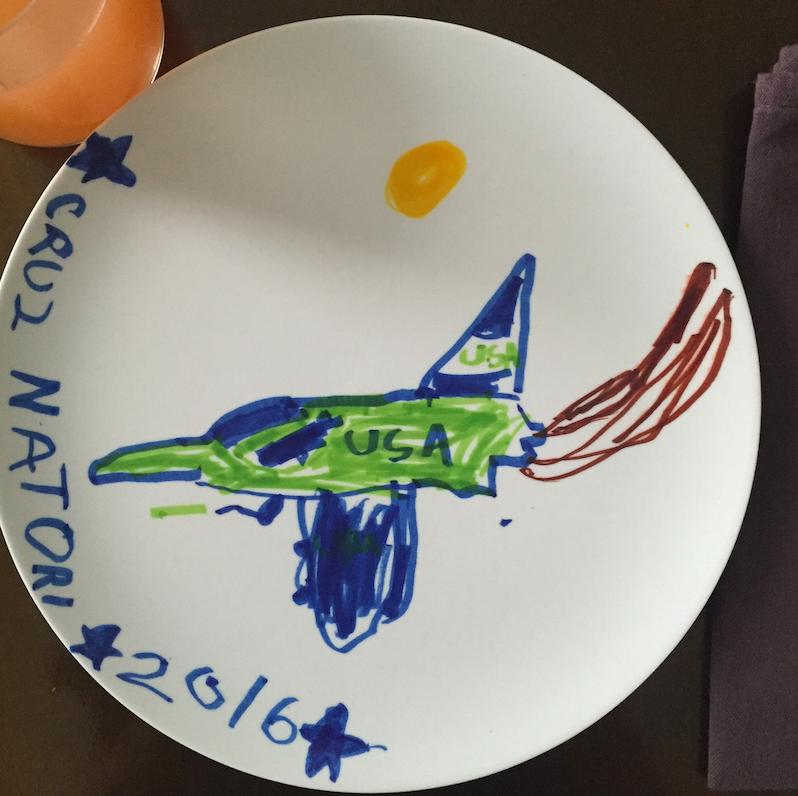 Cruzzie also loves planes.