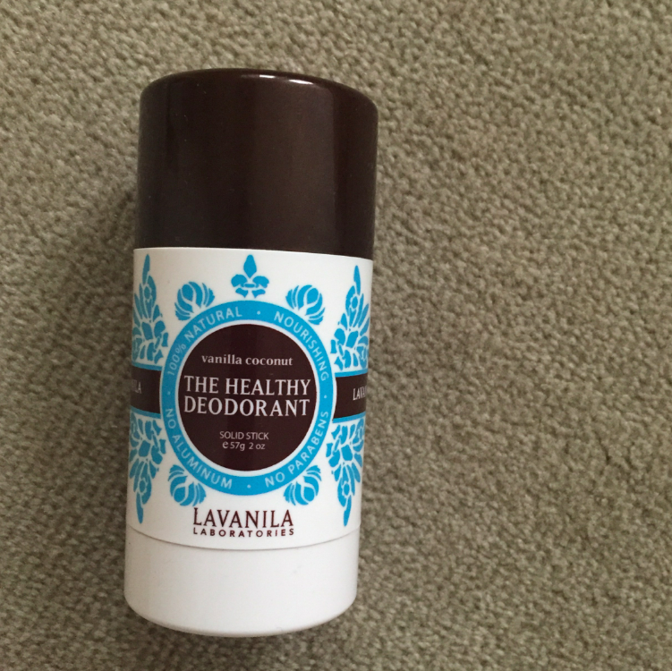 "I am constantly on a quest to find the best ""healthy' deodorant, with no chemicals or parabens or anything BAD. And this is a good find that doesn't sting, burn, or smell bad. So, so far, it is good."