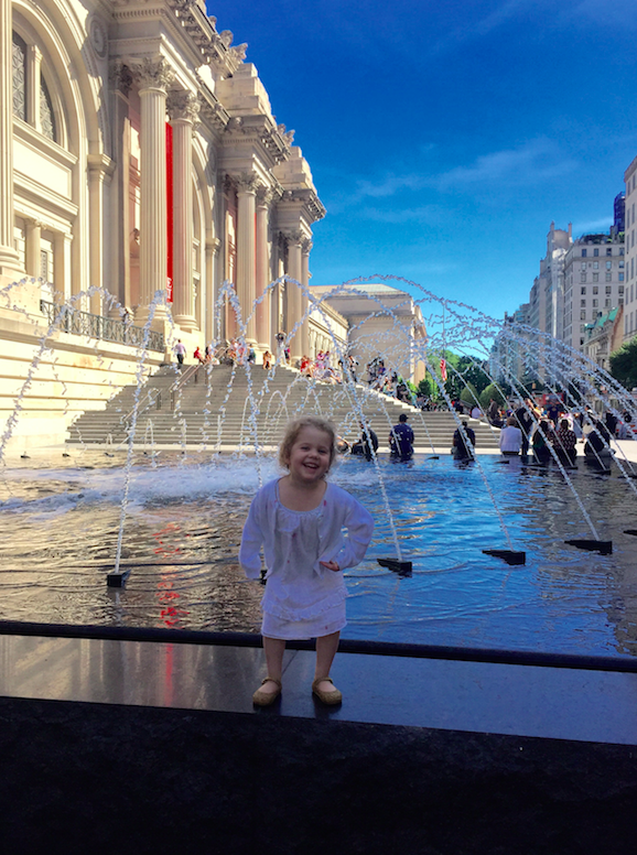 We live in Connecticut just outside of New York City. We feel so lucky to take advantage of all the city has to offer, like the wonderful children's programs here at the Metropolitan Museum of Art.