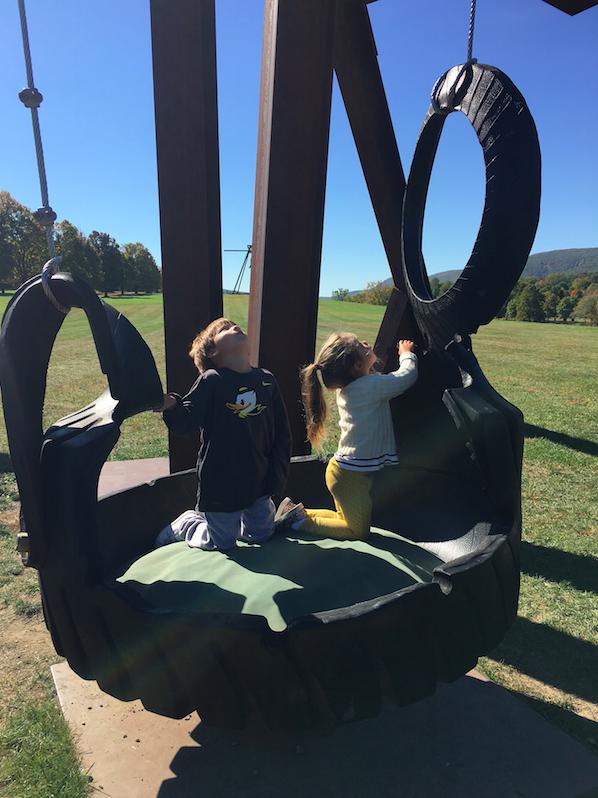 A huge swing.