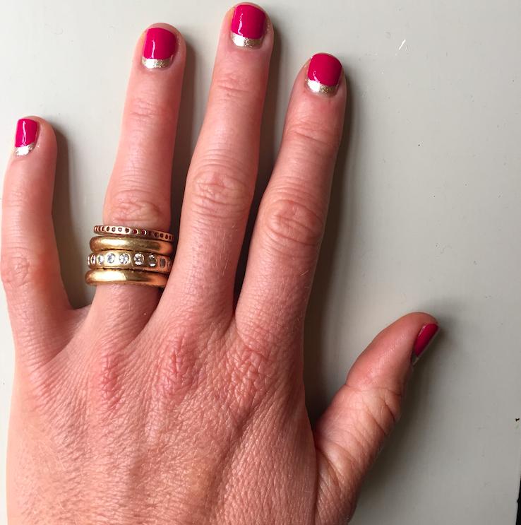 My nails.