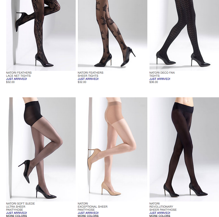 It is finally tights weather on the East Coast.