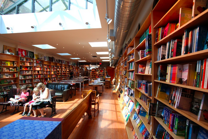 How inviting is this Book store? LOVE LOVE LOVE.