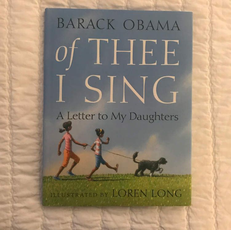 This book seems very fitting for today....it is President Obama's last week as President. It is also a good reminder of how many strong people have shaped our history, and hopefully we will be able to be strong and determined moving forward.