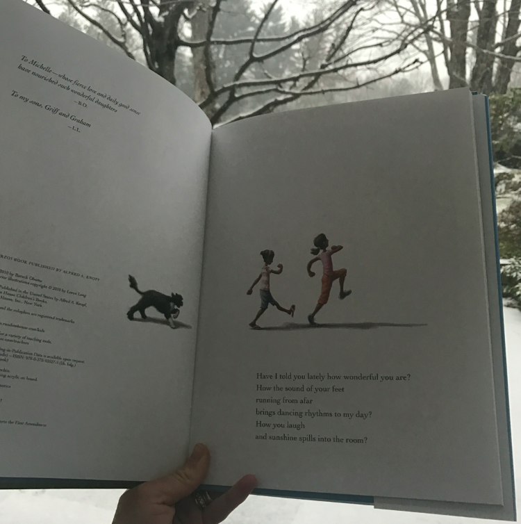 I can't read this book enough. Even in the snow.