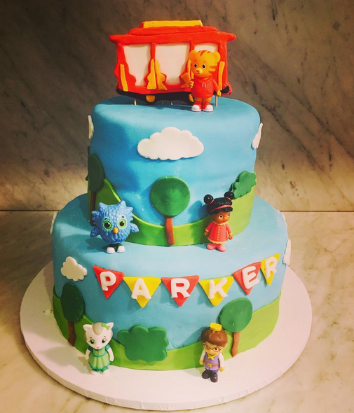 One of the beautiful cakes created by Ilana!