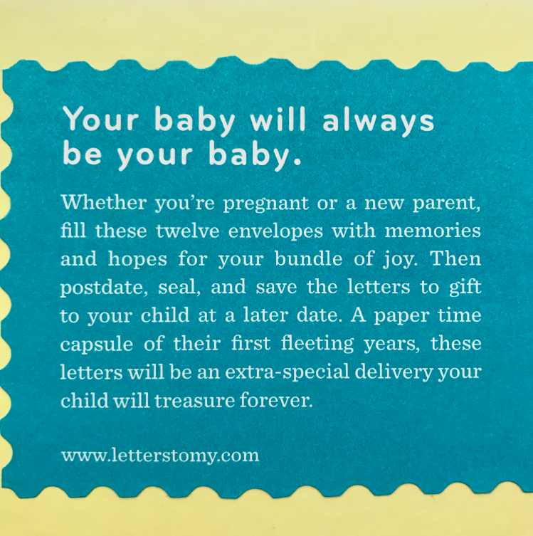 Your baby will always be your baby. TEARS -- doesn't this title just make you SOB?