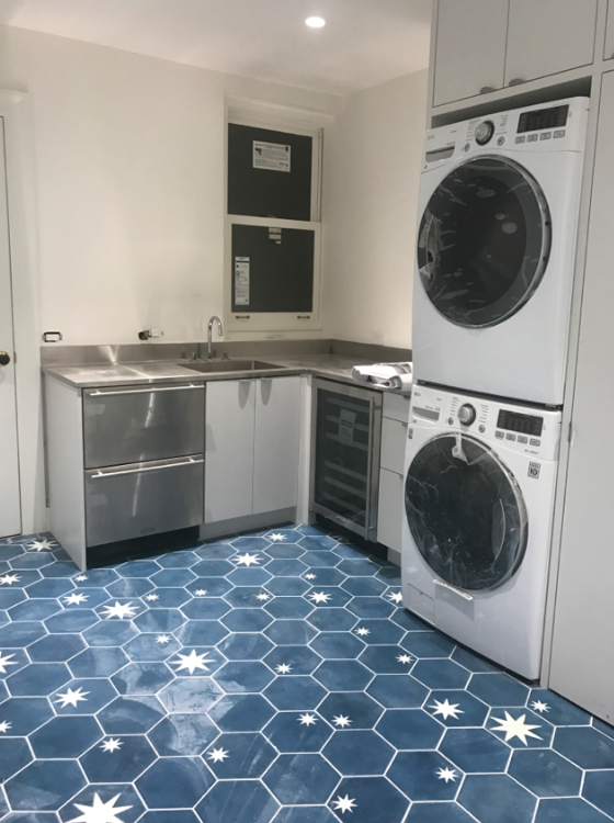 Our laundry room!