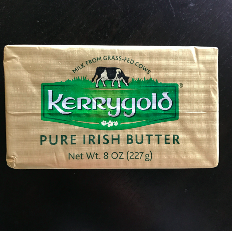 I mean, I can eat this stick all at once. It is creamy, salty, and oh so perfect. By far the best butter (in the states) that I have eaten. I know by it every week because it is so good to eat on bread (I'll take some bread on that butter).