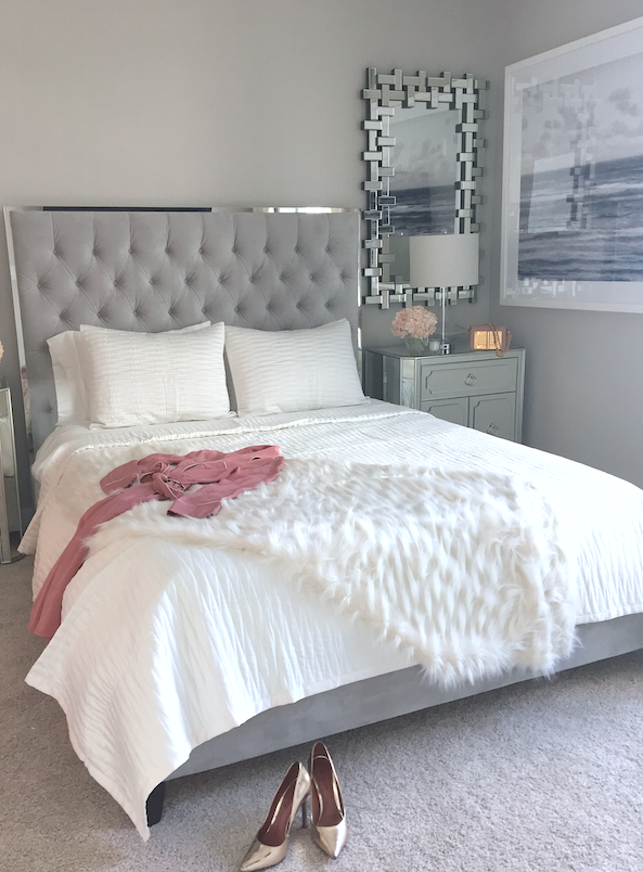 The perfect bedroom, styled by 22 Interiors. Photo
