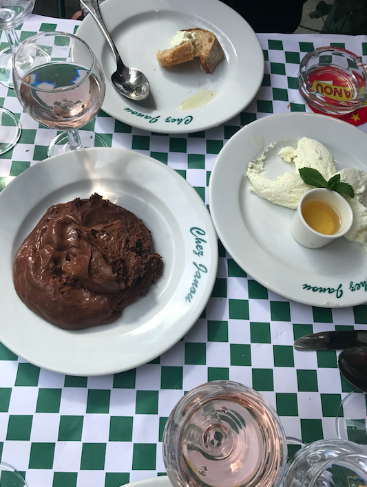 Delicious. A sugar rush, but hey, I ran a marathon, RIGHT?