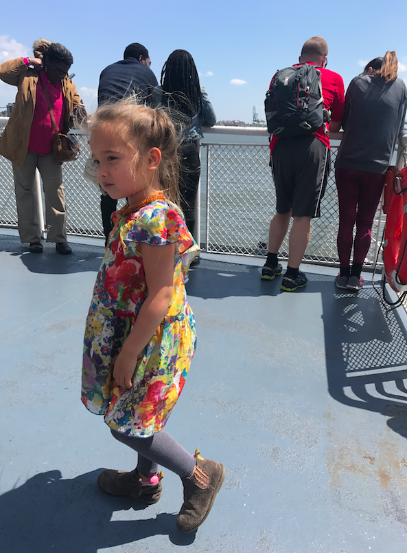 Even the 7 minute ferry ride is fun.