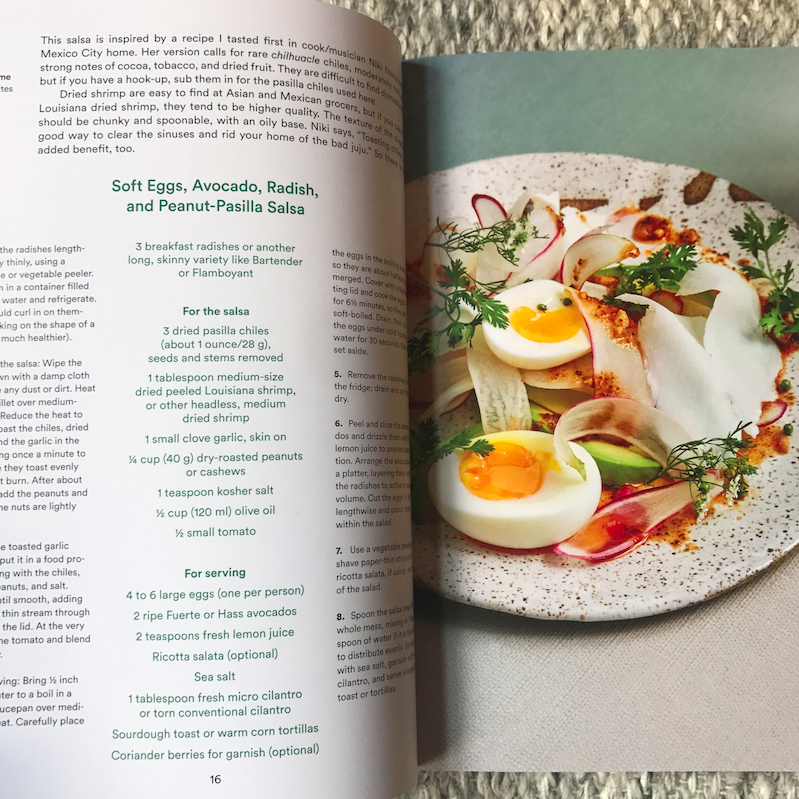 Flipping through the book, I want to make everything. Check out this beauty of a recipe!