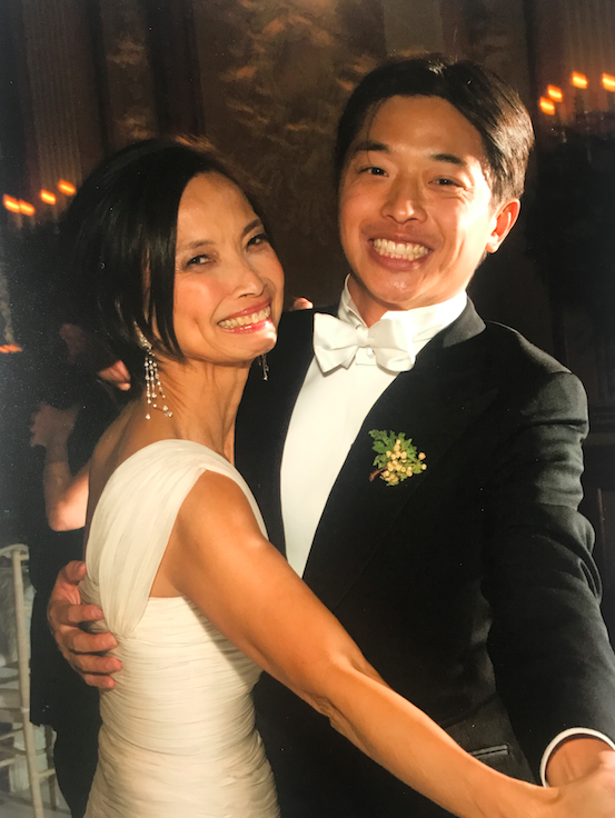 Mother of the Groom, and the beauty of the wedding.