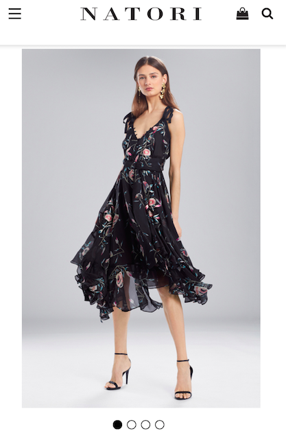 My choice -- I actually love it, and it felt the most me of all the dresses.