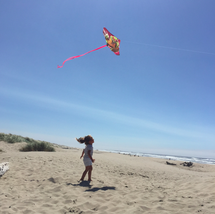 Flying a kite is a perfect example of doing nothing. In my life in NYC, no way jose would I be able to just stand still and hold a piece of string and see how long it will stay up in the sky (hours)....but here, I can.