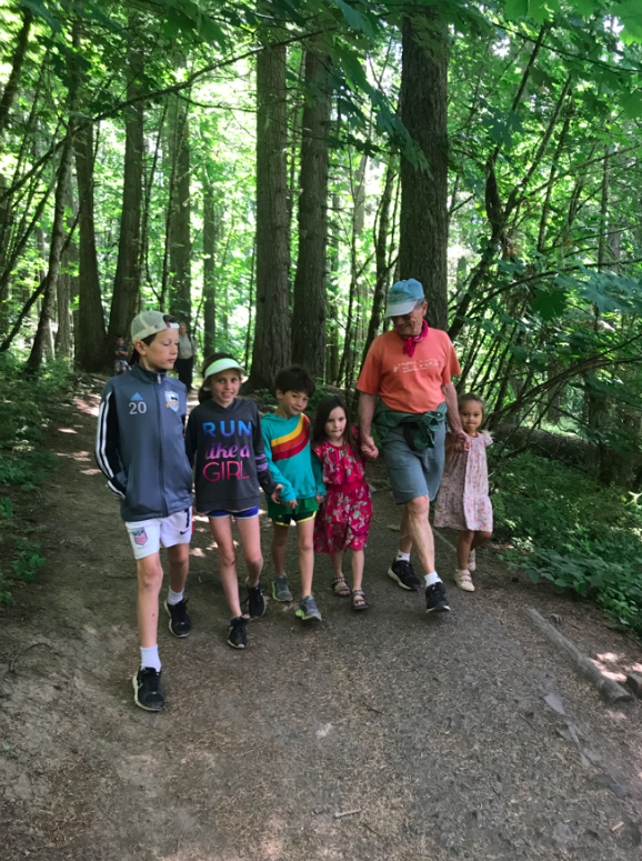 The cousins visited over the long holiday weekend and it was incredible to see the kids interact and love each other so much. Of course, we hiked, because families that hike together, stay together.