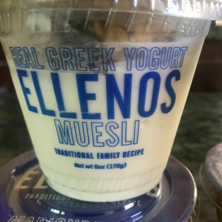 Yogurt with my favorite, muesli, yes please!