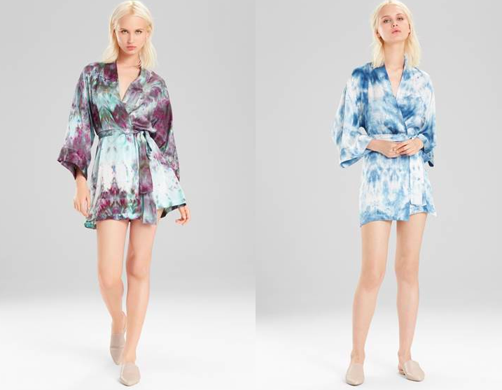 I can't decide which robe I want. And not only that, I want Josie Natori and Upstate to do MORE work together and create other pajamas!
