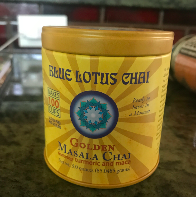 Locally made in Eugene, delicious chai.