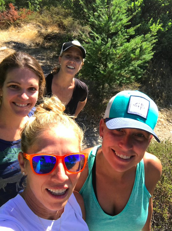 Morning hike with the girls. I know we will always be life long friends.