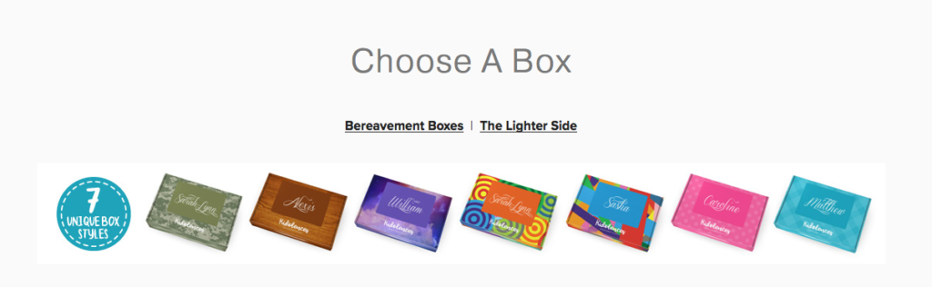 Choose a box.