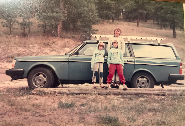 Since I am in Oregon right now at my parent's house, I went on a full search looking for pictures of me at Crater Lake. Although I did not find any, I did find this gem. This photo is of me, my mom, brother, and our 1984 Volvo Station wagon. It was on a cross country camping trip in 1985. #Goals
