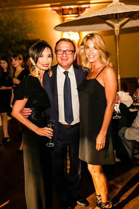 Josie Natori, Jerry Storch at Natori 40th Anniversary Celebration