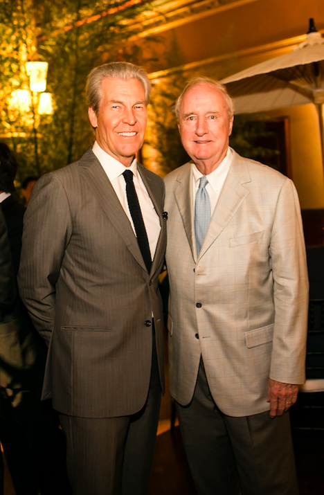 Terry Lundgren. Joe Ford. At Josie Natori 40th Anniversary Celebration.