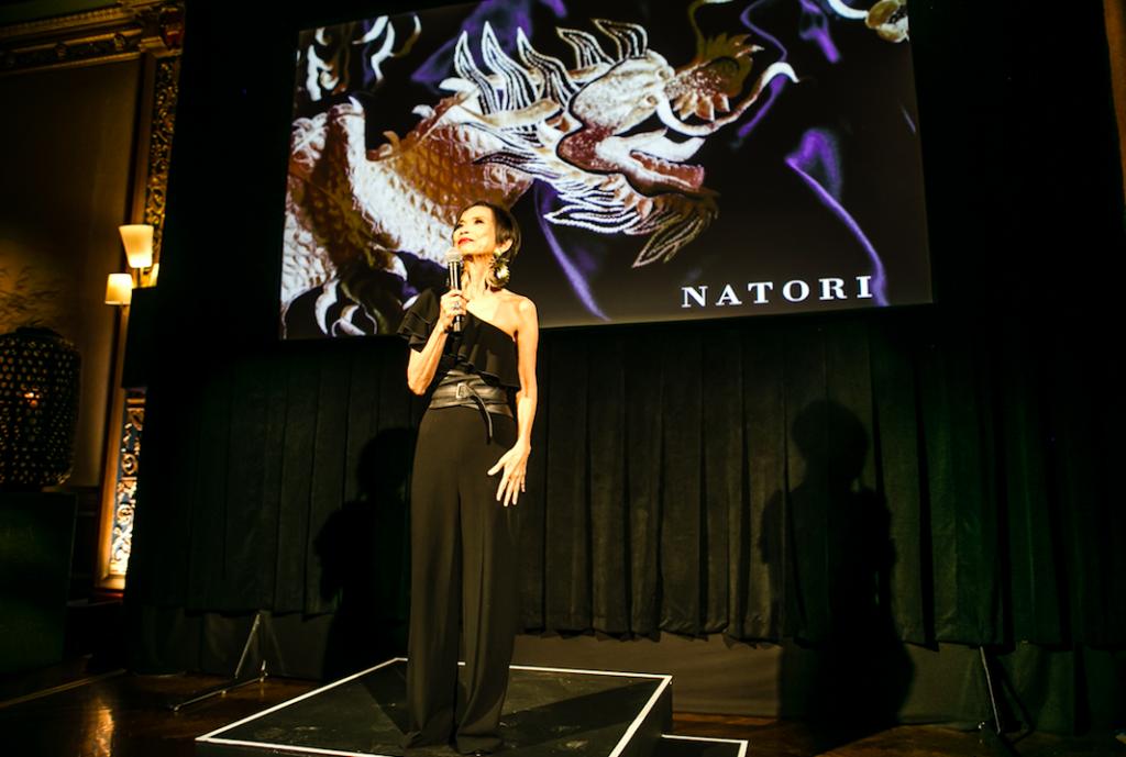 Josie Natori. 40th anniversary video.