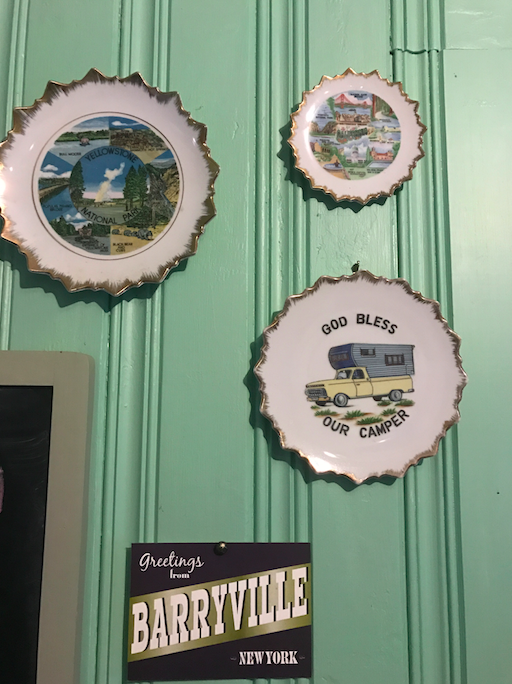 I want this whole collection of plates on the wall.
