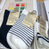 MUJI Embroidered Socks
